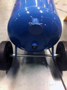 regolatore pressione sabbiatrice a bicarbonato