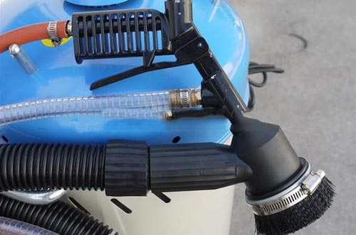 Sabbiatrice portatile Fervi 0462 pistola aspiratore