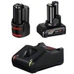 Set Batterie avvitatore bosch 12V