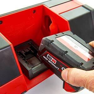 Batterie ricaricabili per elettroutensili